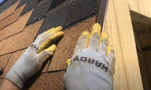Kitchener Affordable Roofing shingles install