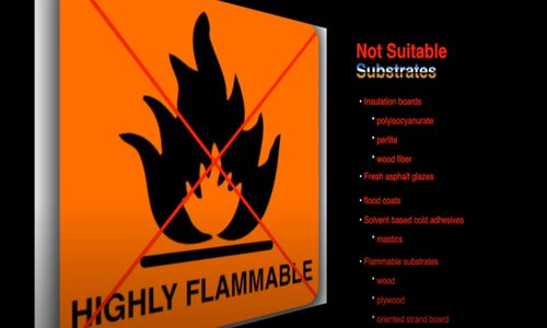 Kitchener Affordable Roofing flat roof flammable