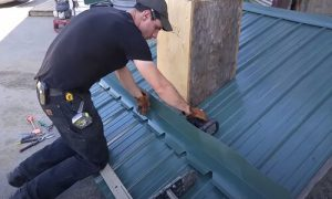 Kitchener Affordable Roofing metal roof repair