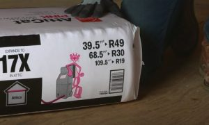 Kitchener Affordable Roofing pink insulation