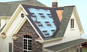 Kitchener Affordable Roofing project